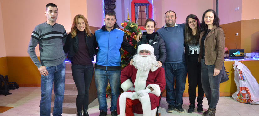 "Santa Claus in ""Our village"""