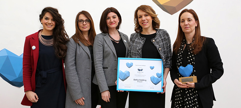 Delta Holding wins the Main Virtus Award for its contribution at the national level